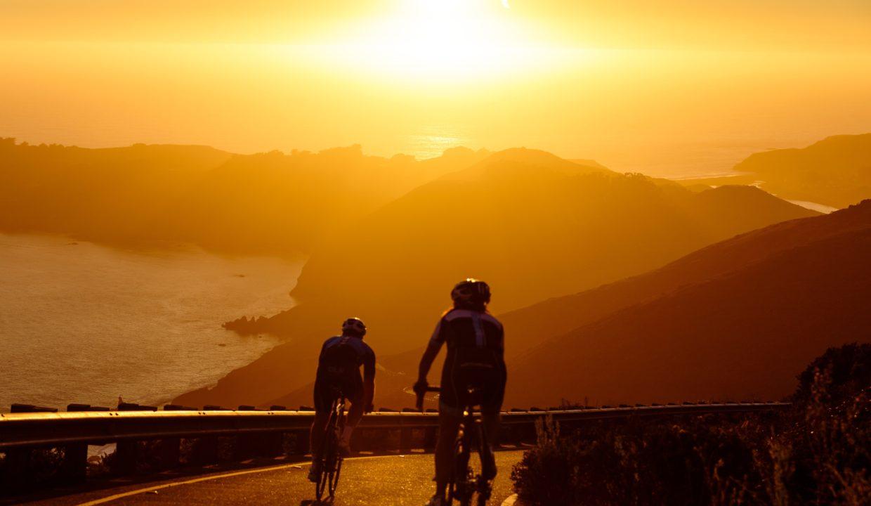 Cyclistes montagne