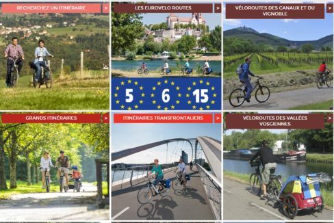 Alsace à vélo Itinéraires