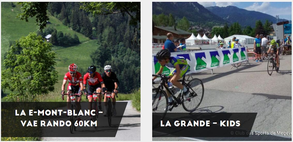 Megève Mont-Blanc Cycling Randonnée