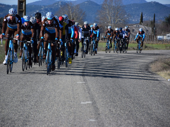 Stage vélo Ardèche AG2R Citroen U23 Team