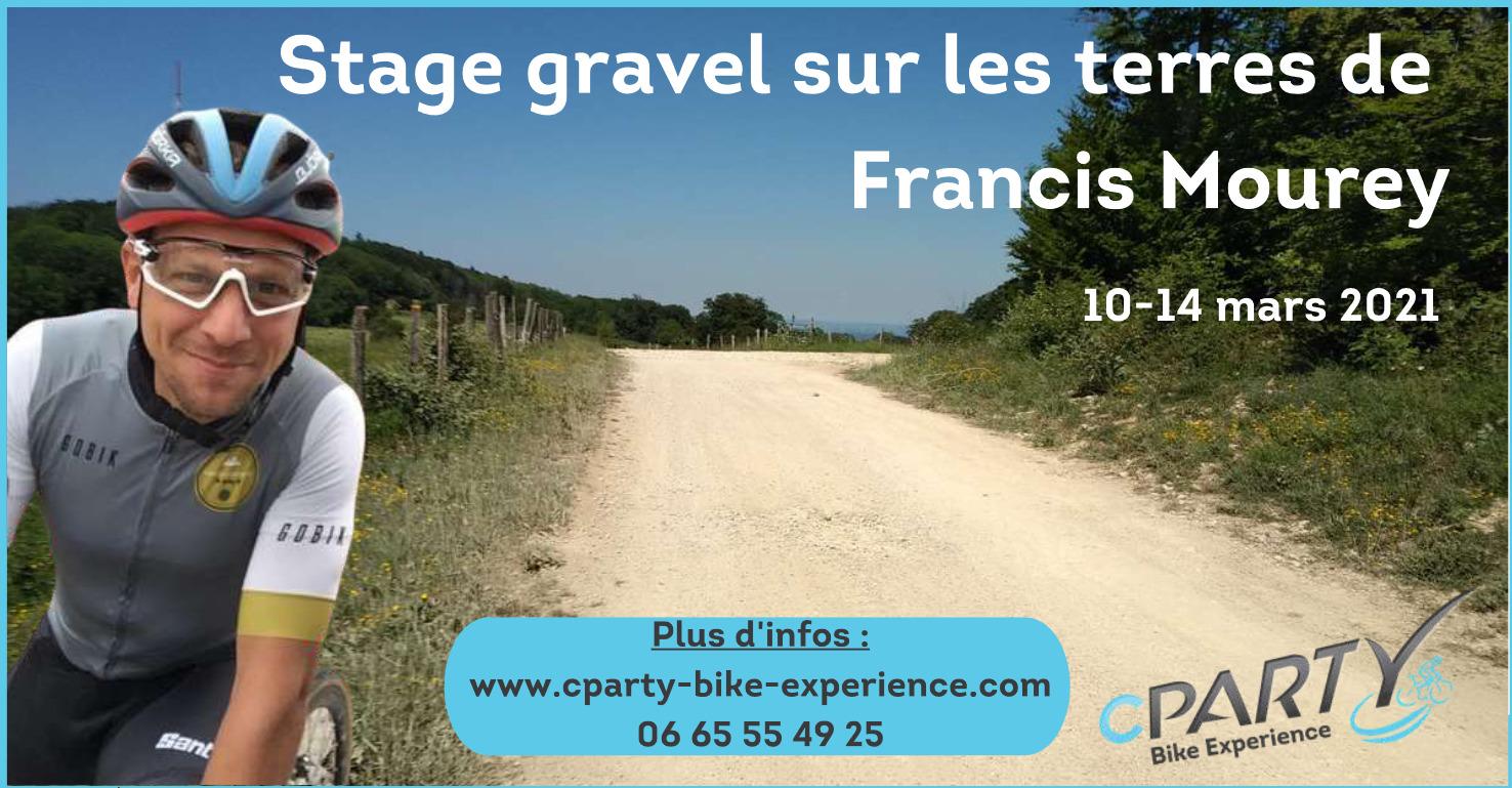Stage vélo gravel sur les terres de Francis Mourey
