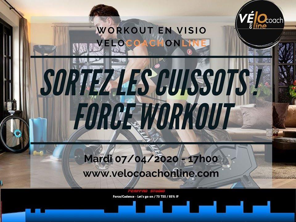 VeloCoachOnLine Entraînement Workout