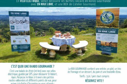 En Roue Libre - Rando Gourmande et panoramique en Corrèze