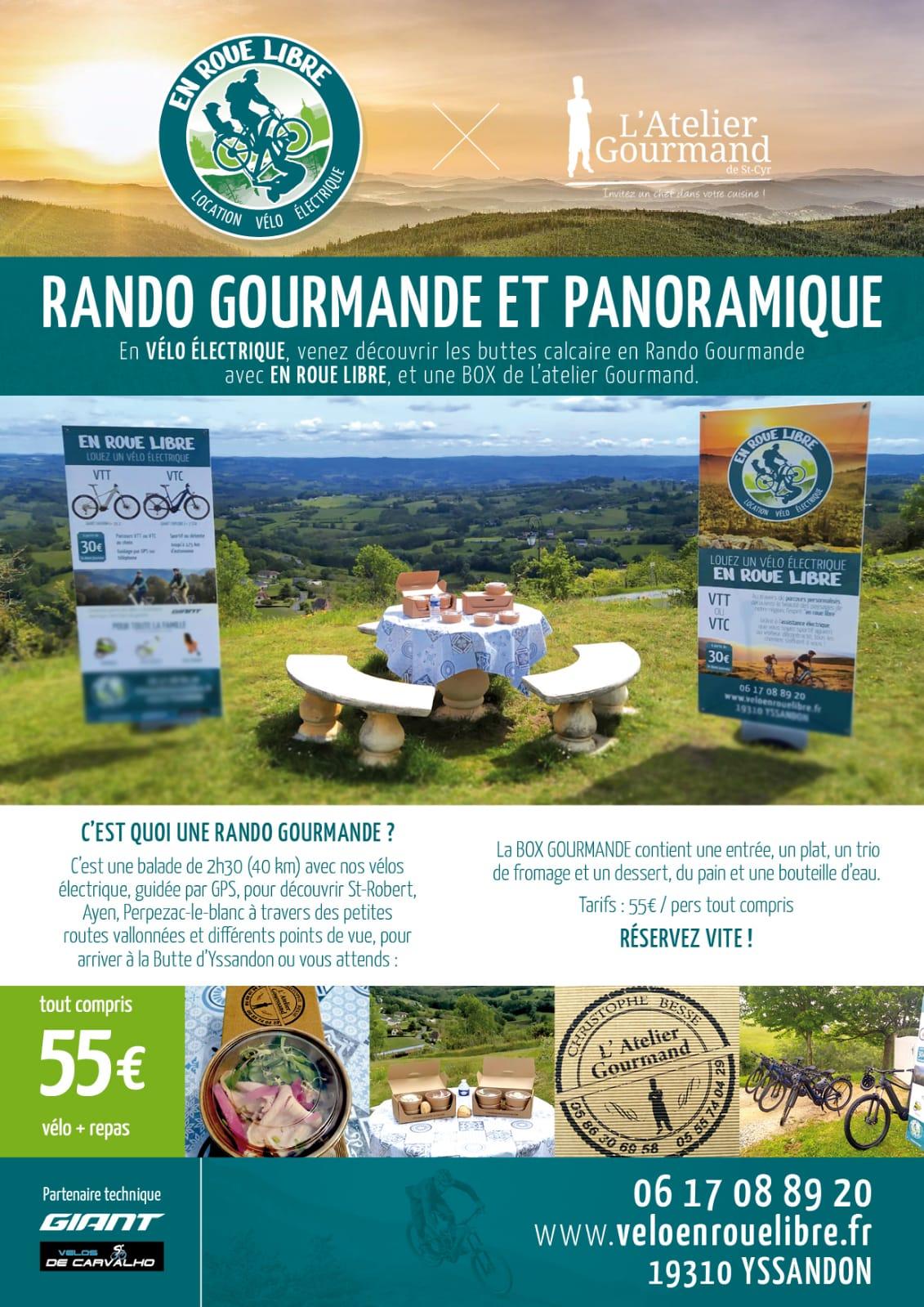 Rando Gourmande et panoramique en Corrèze